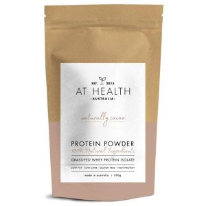 AT health - Naturally cacao grass-fed whey protein 1kg